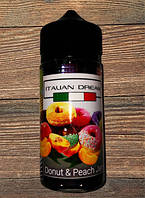 ITALIAN DREAM Donut & Peach Jam 100ml