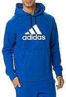 Мужская кофта с капюшоном/ толстовка/ худи/ кенгуру Adidas Адидас