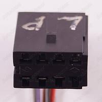 Разъем электрический 7-и контактный (23-13) б/у