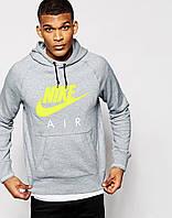 Мужская кофта с капюшоном/ толстовка/ худи/ кенгуру Nike Найк