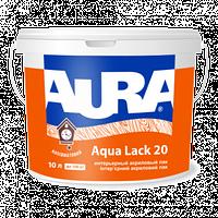 Інтер'єрний акриловий лак Aura Aqua Lack 20 напівматовий
