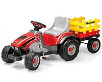 Детский трактор с прицепом Peg-Perego Mini Tony Tigre