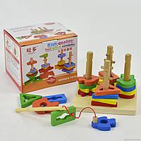 Деревянная игра 555-235 Пирамида