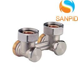 R388X002 Клапан для стальных радиаторов с боковым подключением Giacomini 3/4х3/4 EK