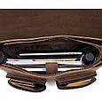 Кожаный портфель Bexhill Bx1061 коричневый, фото 4