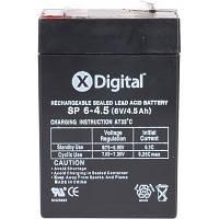 Свинцовый аккумулятор X-DIGITAL SP 6-4.5 (6V 4.5A/h)батарея X-Digital 12V 7Ah