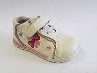 Туфли-кроссовки белые для девочки