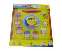 Набор для лепки детский, тесто Play Toys Cake Set (РТ 42263), 6 цветов