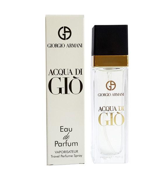 Armani Acqua Di Gio Pour Homme Travel Perfume 40ml продажа цена
