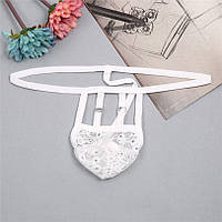 Эротическое мужское бельё Tiku Sexy White лот 2095