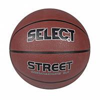 Мяч баскетбольный SELECT Basket street 205770 (размеры-5,6,7)