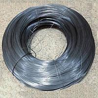Проволока 4,0 мм толщиной неоцинкованная ГОСТ 3282-74 отоженная мягкая термически обработанная