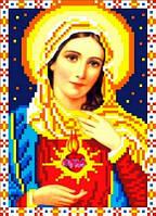 """Набор для вышивки чешским бисером """"Икона Святое Сердце Марии"""""""