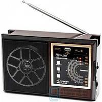 Радиоприемник GOLON RX-9922UAR черно-коричневый Код:9275