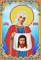 """Набор для вышивки чешским бисером """"Икона Св. Муч. Вероника"""""""