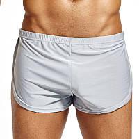Короткие шорты для дома Split Short Gray лот 531