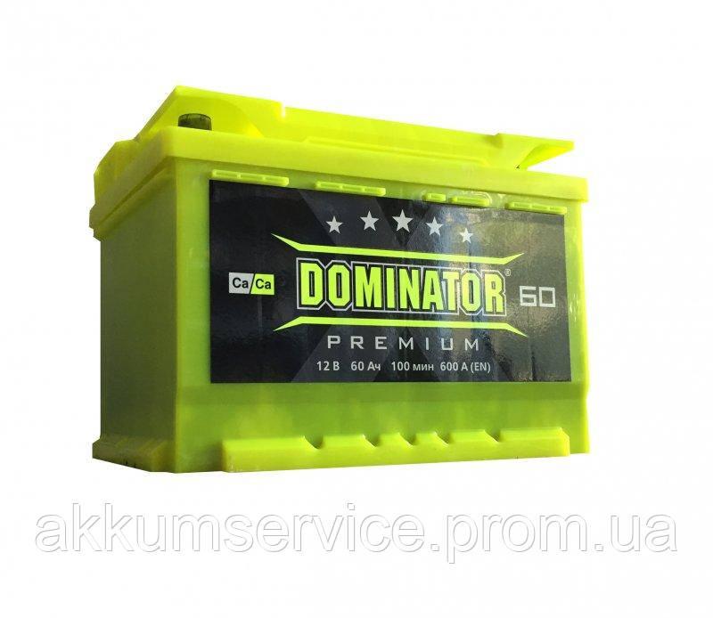 Акумулятор автомобільний Dominator Premium 65AH L+ 640A