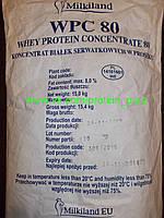 Протеин сывороточный Ostrowia WPC 80 Оригинал (Milkiland; Польша) пломбир.