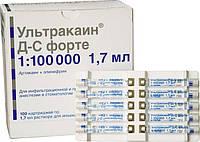 Ультракаин Форте 1:100 000