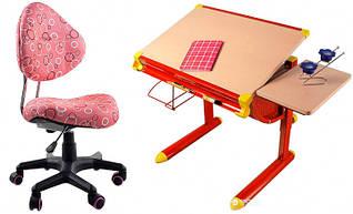 Комплект Evo-kids Школьник Red BD-1122 Maple + Y-520 PO