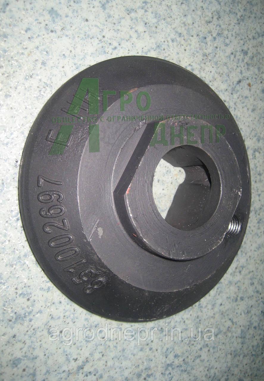 851002697  Фланец упорный подшипников дисковой бороны Gregoire Besson