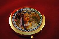 Зеркальце косметическое царевна 10 видов Код:17784264