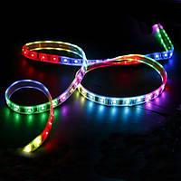 Светодиодная лента 12V 5050, 60 LED, 5 в, RGB Код:17828345