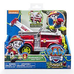 Paw Patrol Jungle Rescue Marshall's Jungle Truck (Щенячий патруль Маршал на спасательной машине в Джунглях)