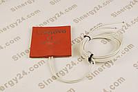 Гибкая нагревающая пластина 100Вт, 220В, (100х100x7мм), терморегулятор 90 градусов