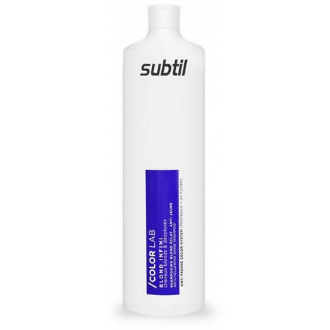 Шампунь антижелизна для светлых волос Subtil Color Lab 1000 ml, фото 2