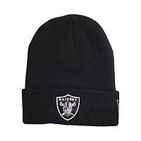 ✔️ Чёрная шапка Raiders