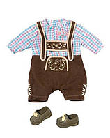 Костюм куклы Беби Борн Баварский стиль для мальчика Baby Born Zapf Creation 822869
