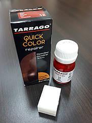 Краситель для гладкой кожи Tarrago Quick Color 25 мл цвет красный (12)