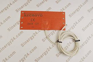 Подогреватель топливного фильтра бандажный, 200Вт, 12В, (100х235мм), терморегулятор 65 градусов