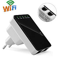 Wi fi repeater router with EU plug LV-WR 04 (белая коробка) Код:620050943