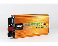 Преобразователь автомобильный AC/DC UKC 500W KC-500D с LCD дисплеем