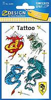 Татуировки с драконами