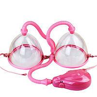 Двойная вакуумная помпа для увеличения груди Breast Pump Код:620051672