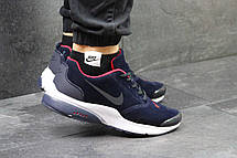 Кроссовки Nike air presto замшевые,синие с красным 43, фото 3