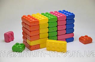 Детский большой конструктор Mega Cube 40 шт. в упаковке