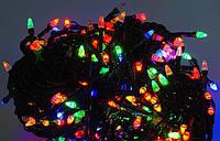 Гирлянда светодиодная разноцветная,синяя, белая 200L SIX CORNER LED LIGHT Код:620052112