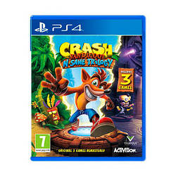 Гра Sony PS4 Crash Bandicoot N. Sane Trilogy (англ. мова)