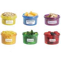 Комплект контейнеров для порционного контроля Потеря веса Perfect Portion Идеальная порция Код:620052808