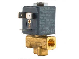 """Клапан 1/8"""" 2мм, нормально-закрытый, 5510 NBR 230V 50 Hz, электромагнитный соленоидный, CEME, Италия"""