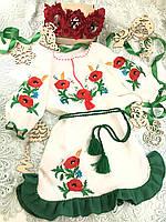 Платье вышиванка детское (размер 116)