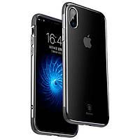 Накладка для iPhone X Baseus Armor Case Black (iPhone X Baseus Armor Case black)