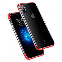 Накладка для iPhone X Baseus Armor Case Red (iPhone X Baseus Armor Case red)
