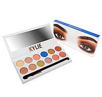 Палитра теней для век Kylie The Royal Peach Palette Код:620053272