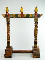 Держатель для Гонга деревянный с росписью