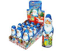 Шоколадная фигурка Дед Мороз 12 шт 60 г (Турция)
